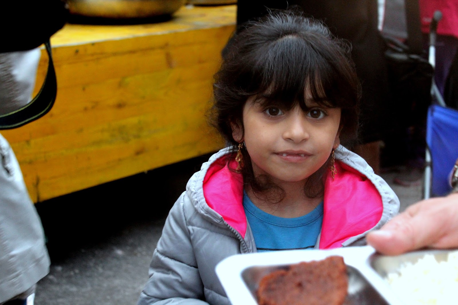 essen flüchtling kind