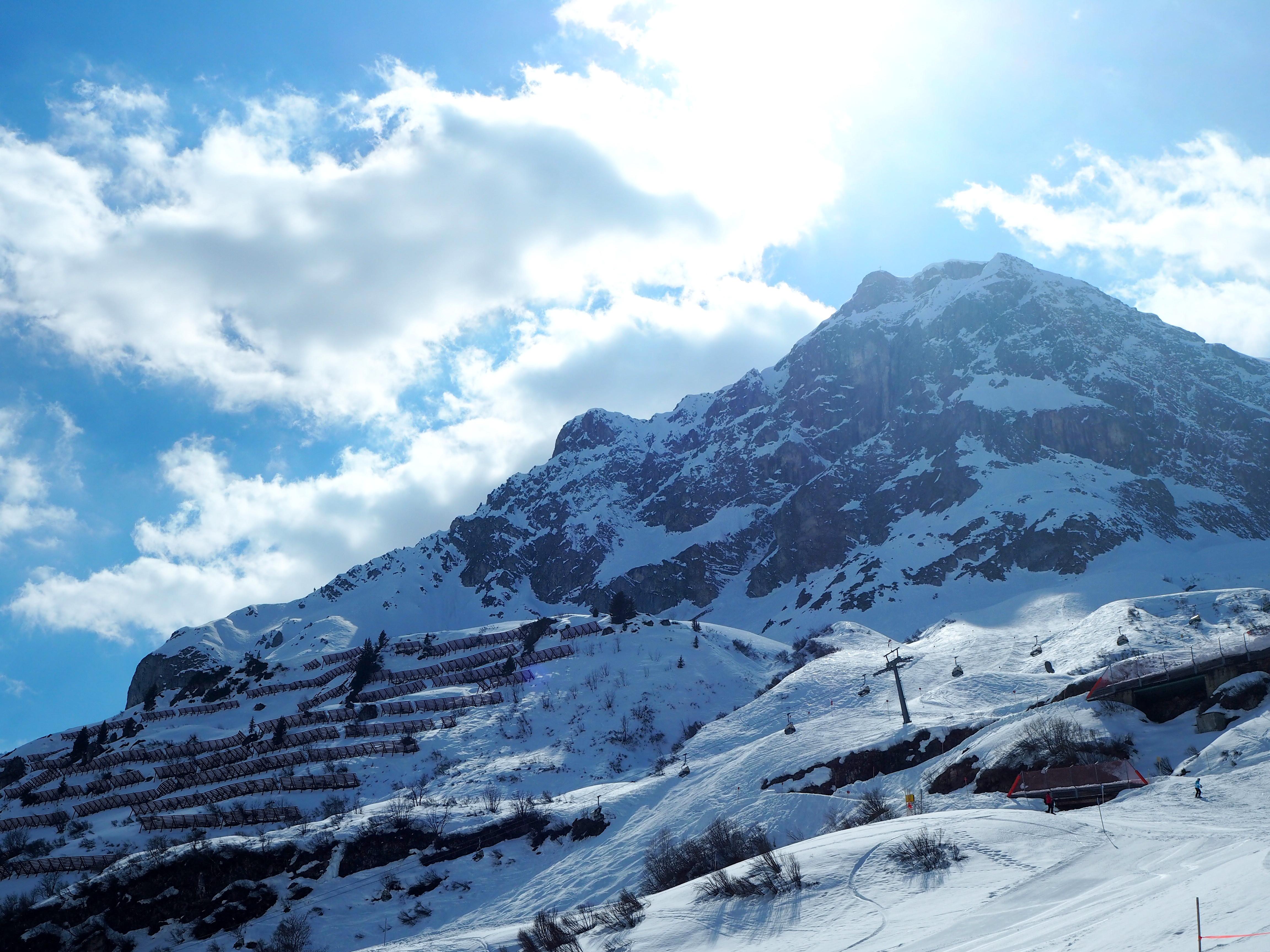 zürserhof zürs ski schnee