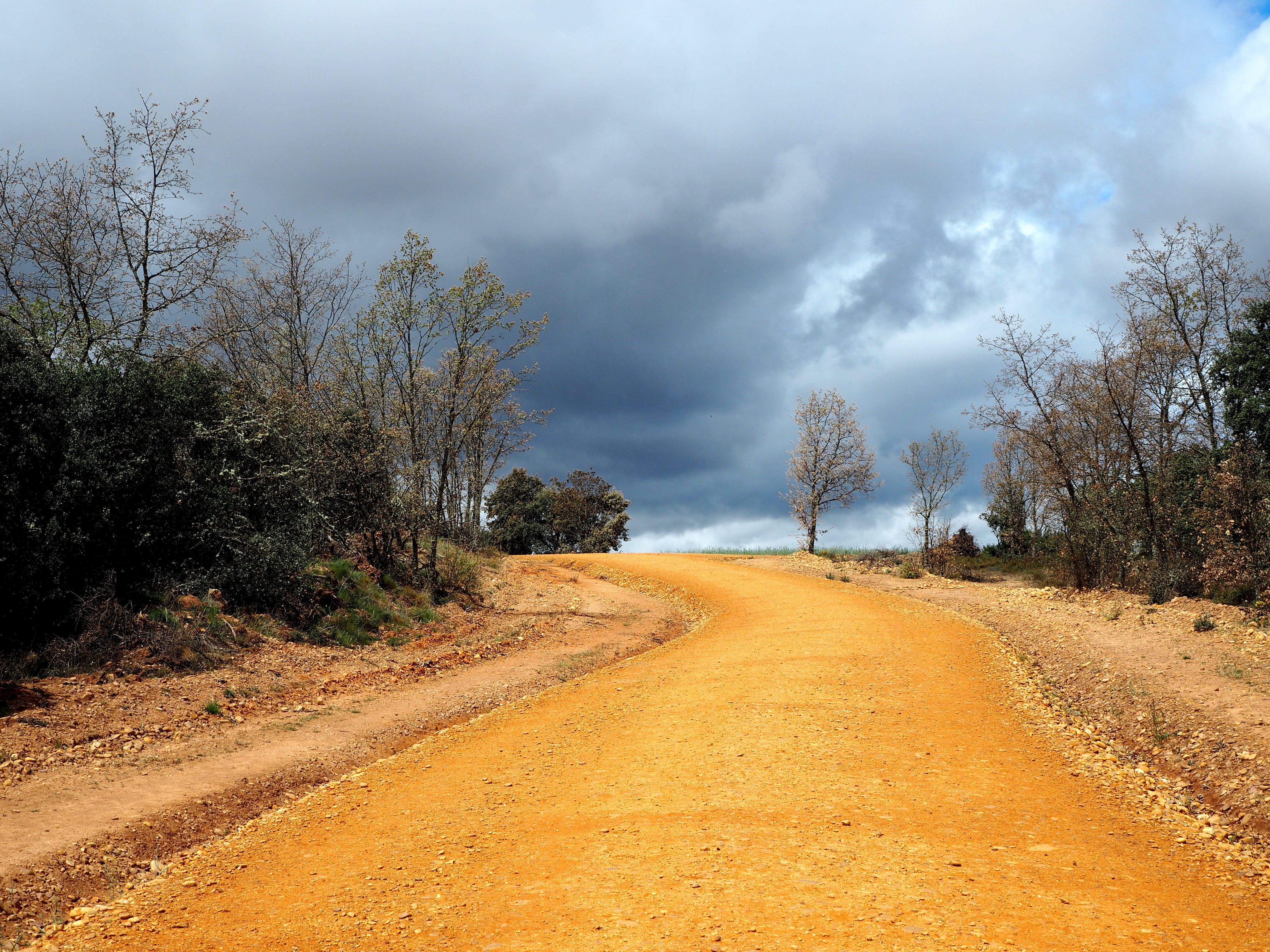 jakobsweg weg himmel natur spanien